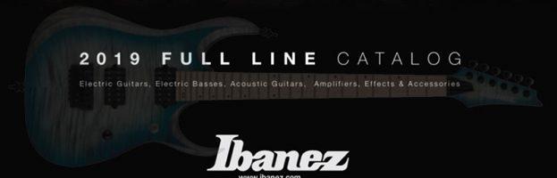 2019 Ibanez Full Line Catalog